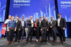 One Fox wint de OpenText Collaboration partner award
